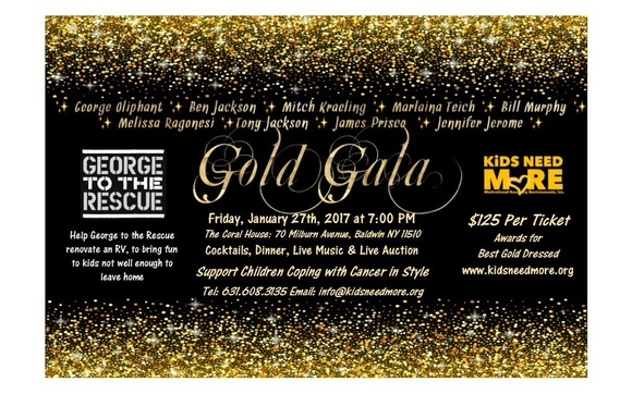 Gold Gala by KiDS NEED MoRE in Amityville, NY - Alignable