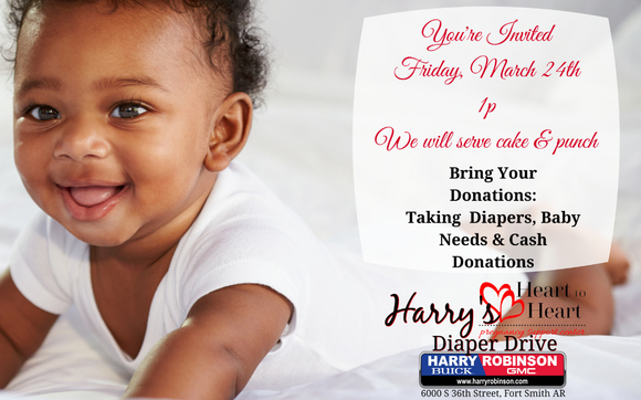 Harry Robinson Fort Smith Ar >> Showering Heart To Heart With Donations By Harry Robinson