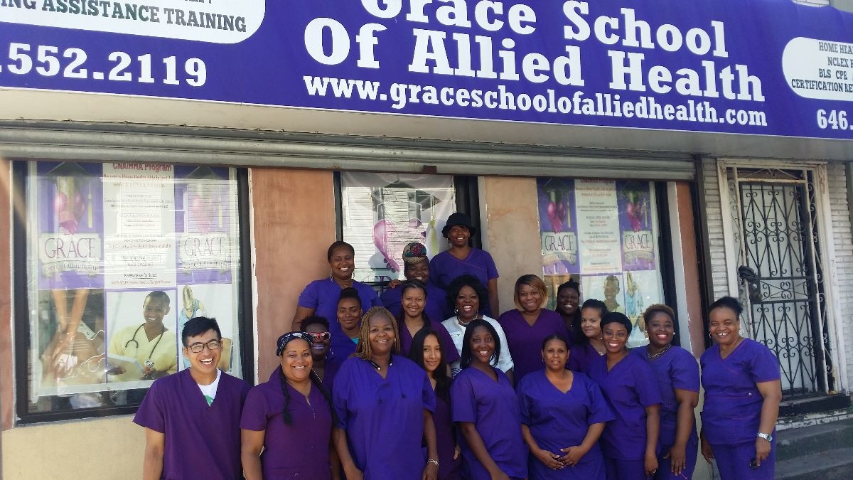Home Health Aide By Grace School Of Allied Health In Brooklyn Ny