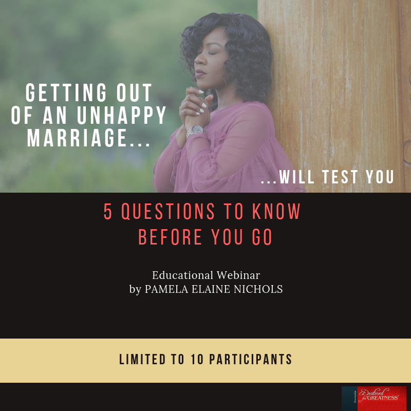 Getting Out of an Unhappy Marriage: 5 Questions to Know Before You