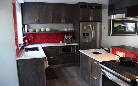 Design and build of cabinetry by My Kitchen Cabinets Inc in ...