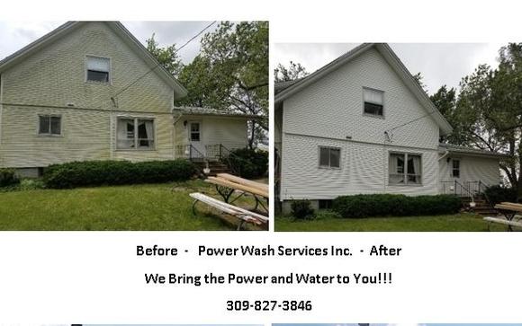 Power Wash Services Inc Bloomington Il Alignable