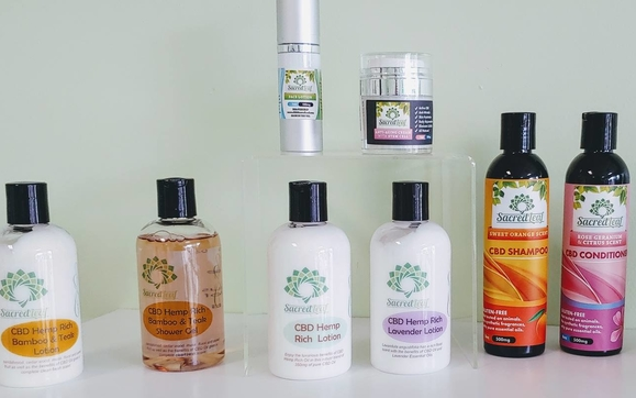 Sacred Leaf Beauty Products by CBD Sacred Leaf - Missouri City in