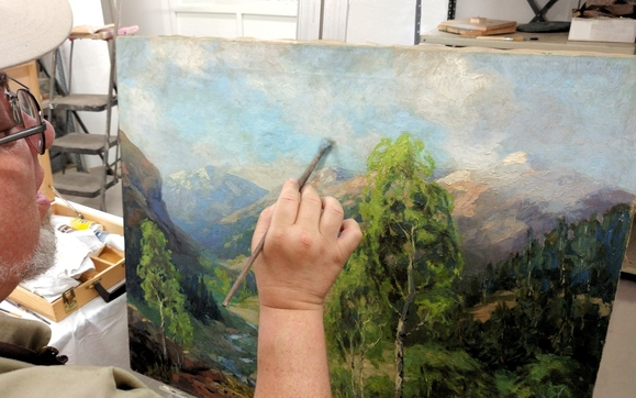 Image result for Heritage Restoration Painting
