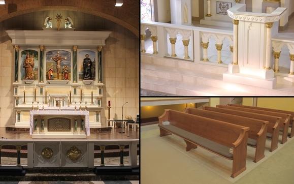 Church Furniture By Heritage Restoration Design Studio In Peoria