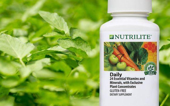 Resultado de imagen de daily nutrilite