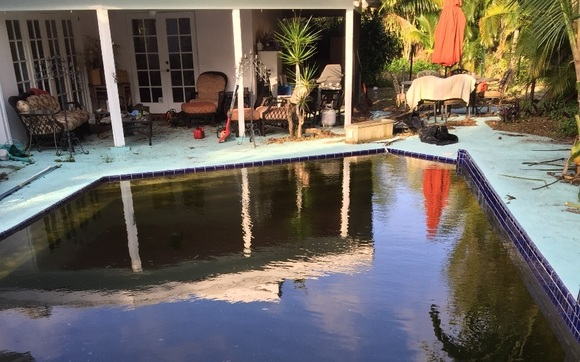 Stain Removal By Sparkling Clear Pool Care West Palm Beach