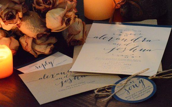 Wedding Invitation Design And More By Tara Perrone In