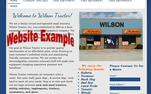Small Business Websites by Carolina Web Design Services LLC in