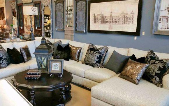 4,000 Sq. Feet Of Unique Furniture . Interior Design. Custom Drapery.