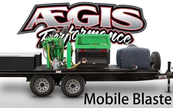 Mobile Dustless Blasting by Aegis Performance Center, LLC in