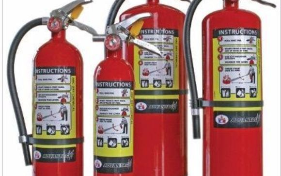 All Types of Fire Extinguisher Sales, Inspection & Service