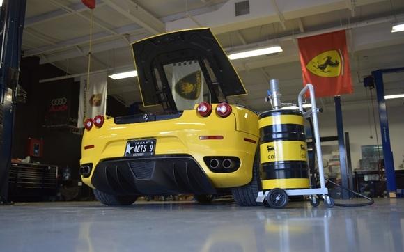 Ferrari F430 Oil Change By Autodynamica Performance In Spring Tx