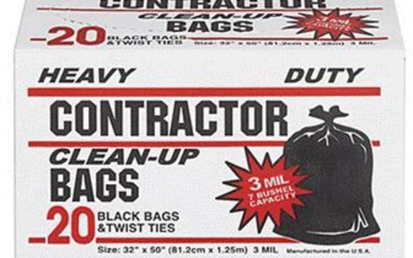 Contractor S Trash Bags By Mazer Wholesale In Cherry Hill Nj