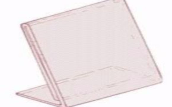 Acrylic Sign Holders Document Holders By Mazer Wholesale In Cherry