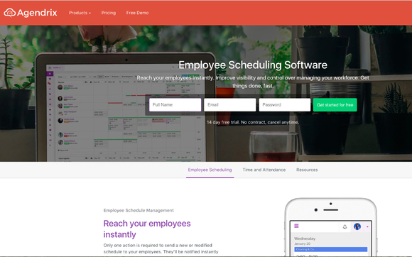 Employee Scheduling app by Agendrix in Sherbrooke, QC