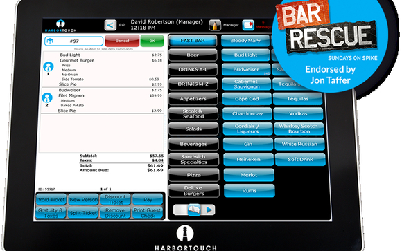 Harbortouch Bar and Restaurant POS Systems by Harbortouch POS