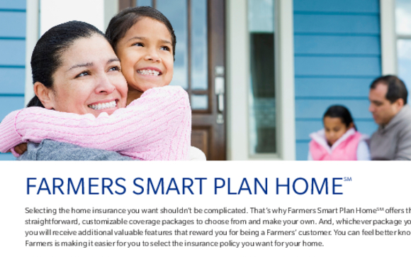 Farmers House Insurance >> Farmers Smart Plan Home Homeowners Insurance By Farmers Insurance