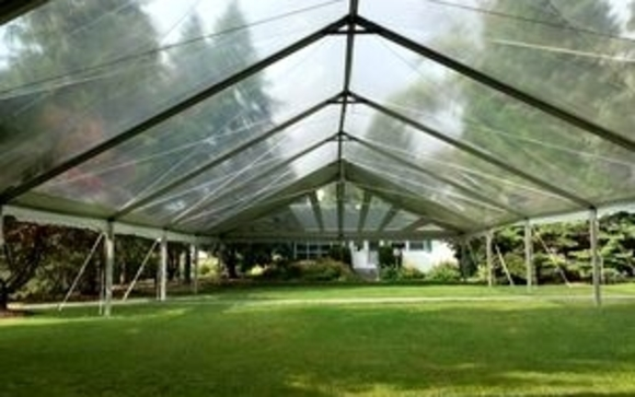 · Canopy Tent  · Sailcloth Tent  · Pole Tent  · Frame Tent  · Marquees