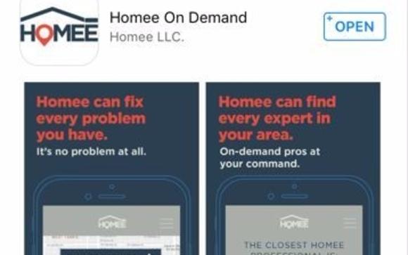 Homee On Demand Mobile App by Homee On Demand - Jacksonville