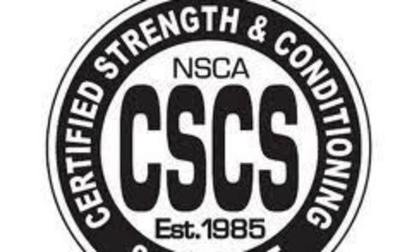 Top Five Nsca Cscs Login - Circus
