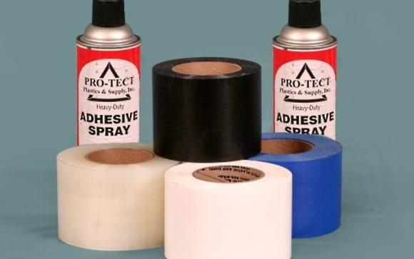 Shrink Wrap Tape and Spray Adhesive by Pro-Tect Plastic