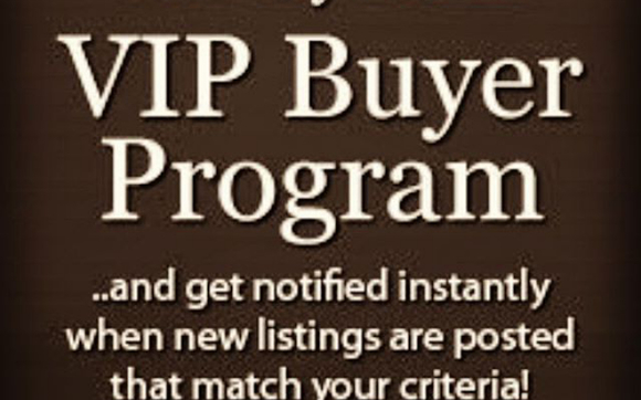 VIP Buyer's List by BUYING A HOUSE WITH CASH PRIVATE MONEY LENDERS