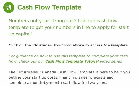 futurpreneur business plan template