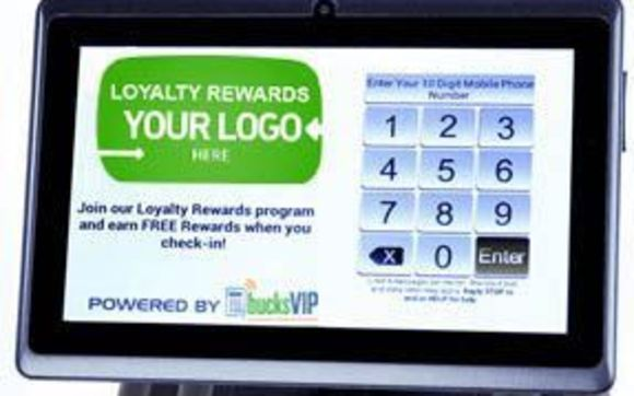 8d7bcf021e Customers join and participate in your branded loyalty program by simply  entering their phone number into the kiosk to earn rewards and get alerts