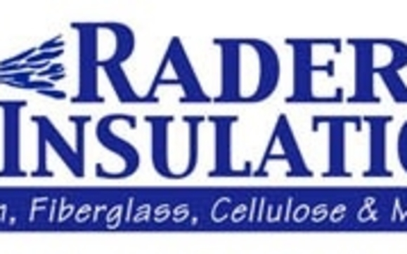 Full service insulation contractor by Rader's Insulation in
