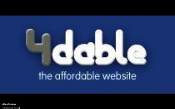 Affordable do it yourself websites by 4dable -