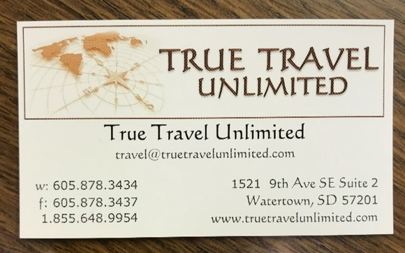 Travel by True Travel Unlimited in Watertown, SD - Alignable