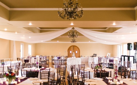 Ball Room Reception by The Gardens of Cranesbury View in New