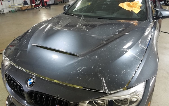 Paint protection film services by CMG Detailing in Cedarburg