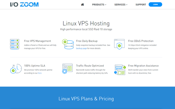 SSD Linux VPS by IO Zoom in Houston, TX - Alignable