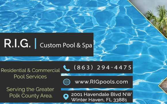 In Ground Fiberglass Or Concrete Poolu0027s Or Spau0027s, RIG Custom Pool And Spa  Can Handle Any Build Out That A Residential Or Commercial Customer May Need.