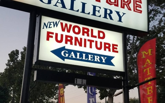 Contact New World Furniture Gallery