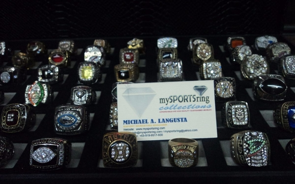 CUSTOMIZED SPORTS CHAMPIONSHIP RINGS by Mysportsring Collections