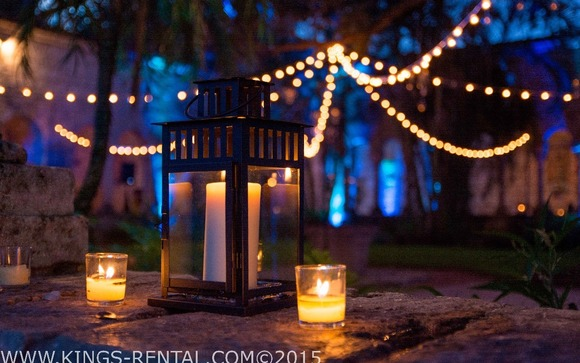 We Offer The Best Lighting Equipment Needed For Your Dream Wedding Either By Beach Or In Any Other Natural Environment