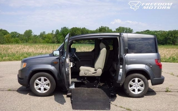 488a5466b2 2011 Honda Element EX with Wheelchair Accessible Conversion by ...