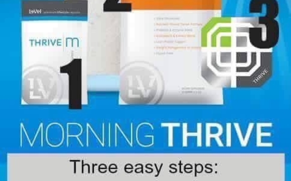 Le Vel Thrive 3 Step By Level Thrive 3 Step Vitamins And Nutrition