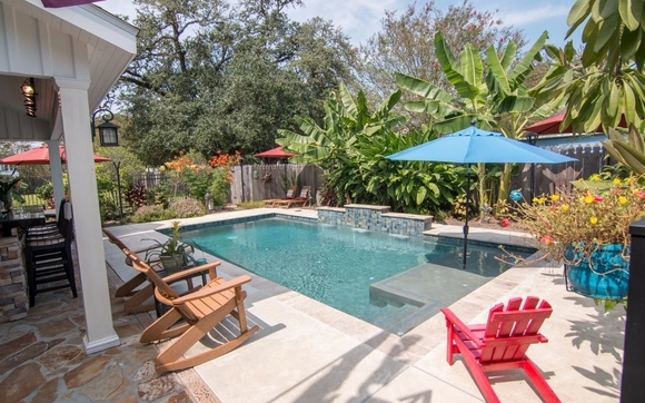 Inground Swimming Pool Contractor By Sabine Pools Spas
