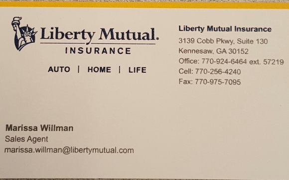 Liberty Mutual Auto Insurance >> Contact Information By Liberty Mutual Insurance Group In Kennesaw