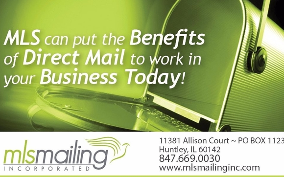 Direct Mail & Digital Printing by MLS Mailing in Huntley, IL - Alignable