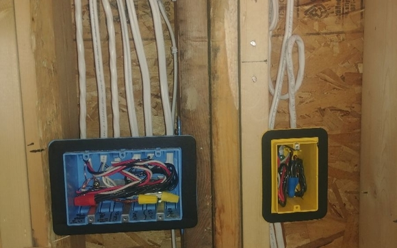 Cool Residential Electrical Rough In By Cantek Electrical Ltd In Wiring 101 Tzicihahutechinfo