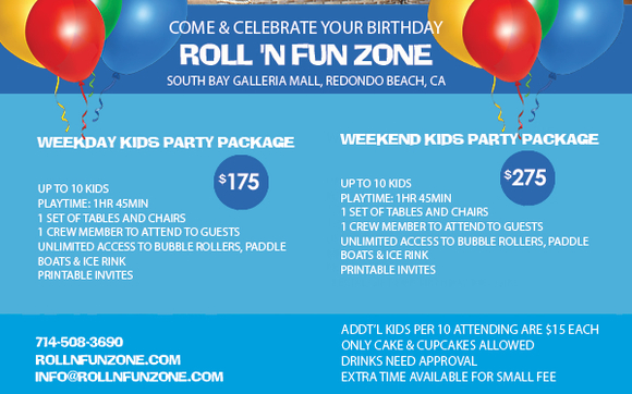 Birthday Party Venue Available in Redondo Beach! by Graham
