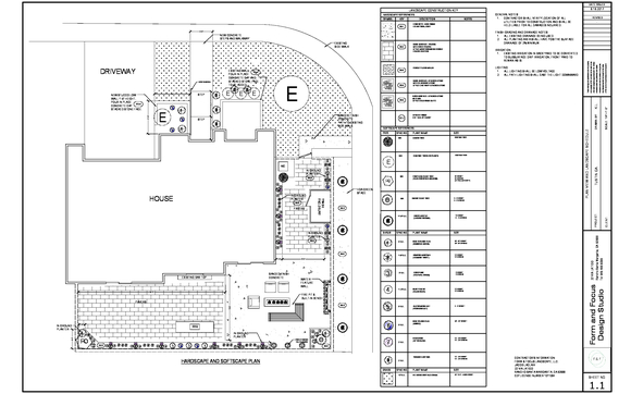 HOA Plans by Form and Focus Design Studio in Rancho Santa Margarita