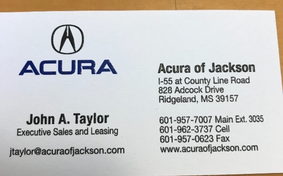 Acura Jackson Ms >> Acura Of Jackson By Acura Of Jackson In Ridgeland Ms Alignable