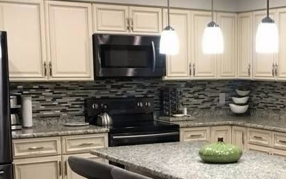 Kitchen Cabinets And Countertops By Elegant Touch Stonework Inc In