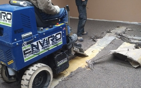 Fast Dustless Pro Floor Removal & Concrete Grinding by